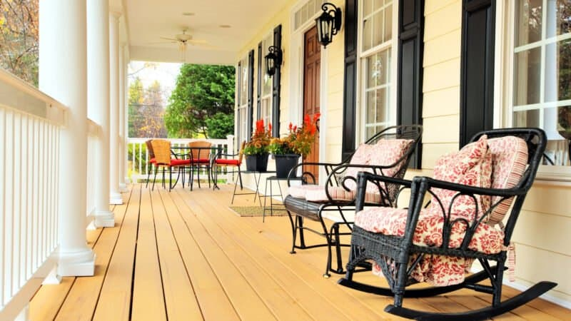 Front Porches and Back Decks