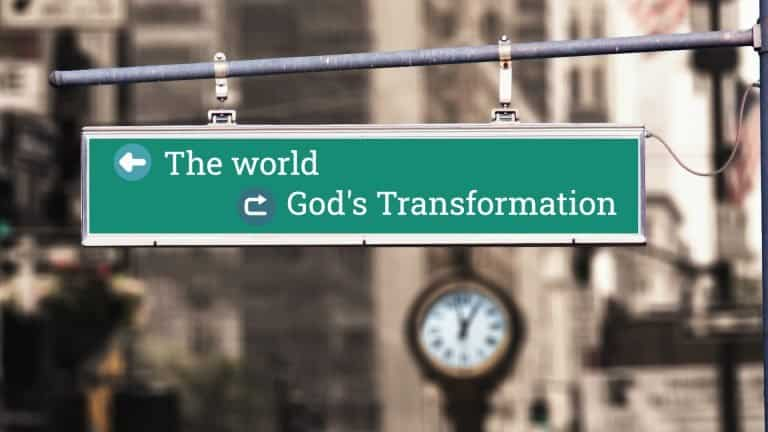 Transactional Love - God's Transformation